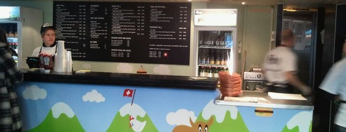 Holy Cow! is one of Foodie places in Geneva area.