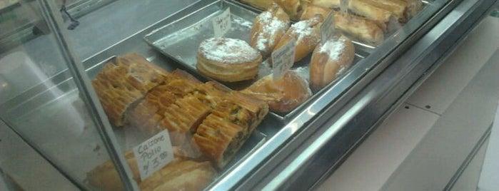 Bagueteria, Pastelería y Bodega D'Thomas is one of Panaderías Saludables.