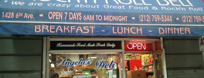 Angela's Sandwich Shop is one of New York.