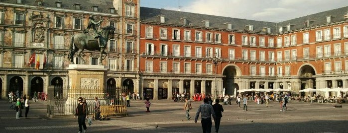 Plaza Mayor is one of mylifeisgorgeous in Madrid.
