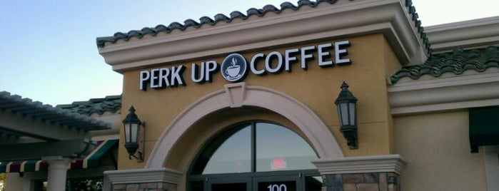 Perk Up Coffee Shop is one of Vegas Essentials.