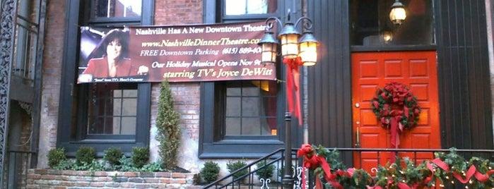 Nashville Dinner Theater is one of Nashville.