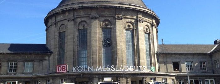 Bahnhof Köln Messe/Deutz is one of September Amsterdam/Frankfurt/Cologne/Paris Trip.