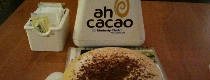 Ah Cacao Chocolate Café is one of Cancún - Por hacer.