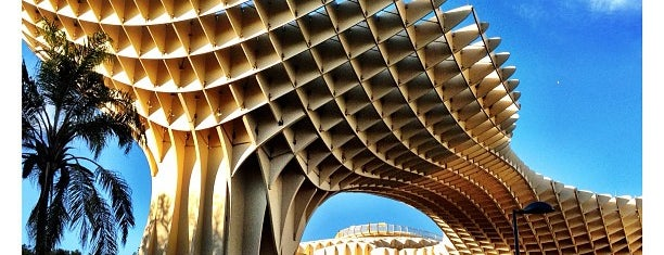 Metropol Parasol is one of Lieux sauvegardés par Brian.