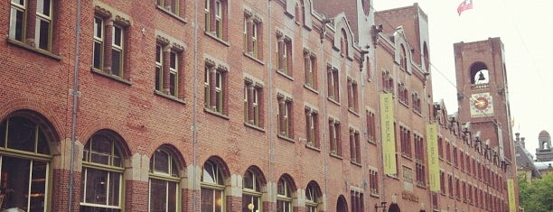 Beurs van Berlage is one of Amsterdam.