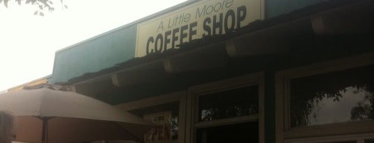 A Little Moore Coffee Shop is one of Encinitas.