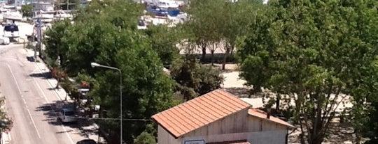 Hotel Riviera is one of Orte, die Polina gefallen.
