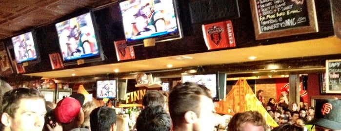 Finnerty's is one of Big Buck Hunter in NYC.