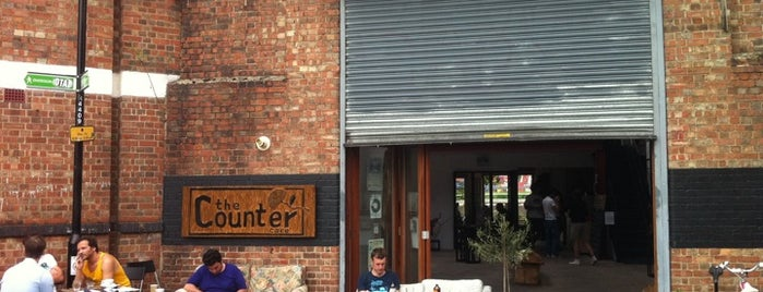The Counter Cafe & Roastery is one of LONDON.