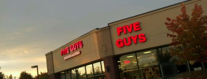 Five Guys is one of Home Rotation.