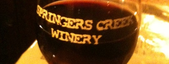 Springers Creek Winery is one of Wineries and Microbreweries around St. Louis.