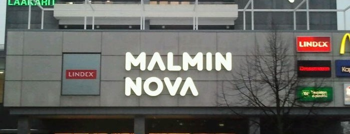 Kauppakeskus Malmin Nova is one of Ostarit.