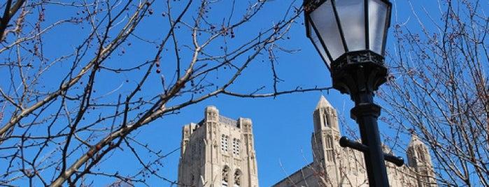 Rockefeller Chapel is one of O-Week Campus Guide.