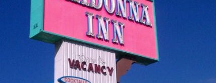Madonna Inn is one of #AllAboutLuv.