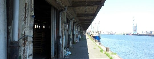 Vismijn is one of Oostende.