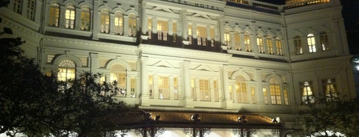 Raffles Hotel is one of The best of Singapore.