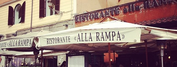 Alla Rampa is one of Rome.