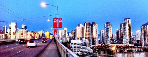 Granville Street Bridge is one of Vancouver Downtown Walkabout.