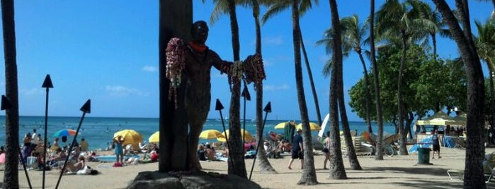 Kuhio Beach Park is one of Oahu: The Gathering Place.