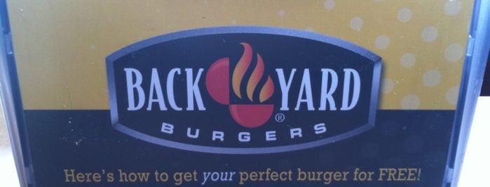 Back Yard Burgers is one of Orte, die Christine gefallen.