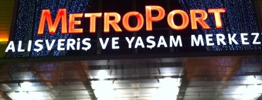 Metroport is one of Istanbul, TK.