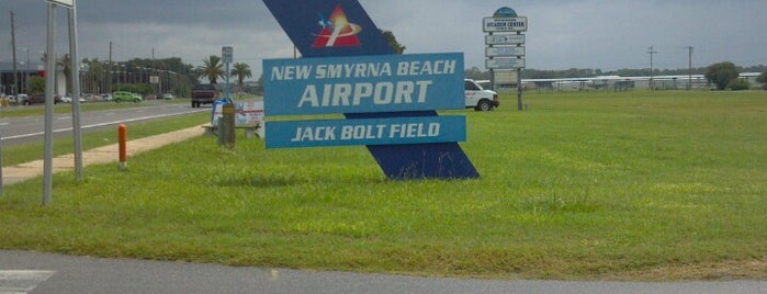 New Smyrna Municipal Airport is one of Hopster's Airports 2.