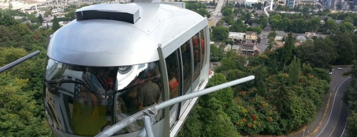 Portland Aerial Tram - Upper Terminal is one of Cooplaces Portland.