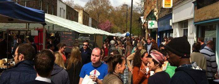 Broadway Market is one of blighty sights.