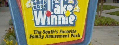 Lake Winnepesaukah Amusement Park is one of Theme Parks I've Visited.