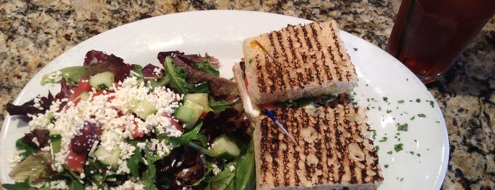 Panini Cafe is one of LA Lunch Spots.