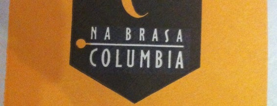 Na Brasa Columbia is one of A visitar.
