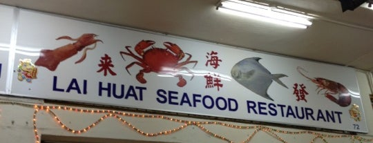 Lai Huat Seafood Restaurant is one of Lugares favoritos de Ian.