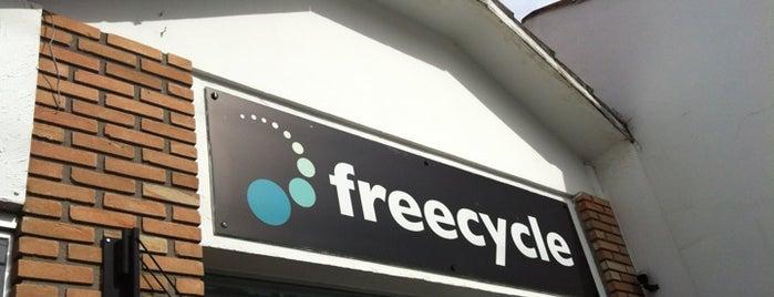 FreeCycle is one of Glauber'in Beğendiği Mekanlar.