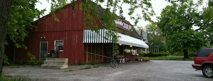Hallock's Cider Mill is one of North Fork Fun and Games.