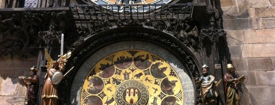 Horloge astronomique de Prague is one of StorefrontSticker #4sqCities: Prague.