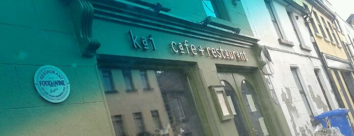 Kai Cafe + Restaurant is one of 100 Best in Ireland.