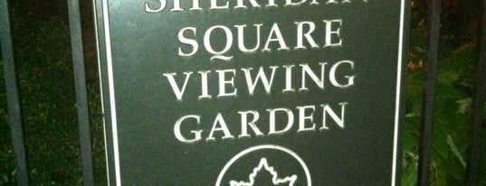 Sheridan Square Viewing Garden is one of NYC 2018 - South/Middle Manhattan.