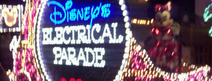 Main Street Electrical Parade is one of Disney Land Florida.