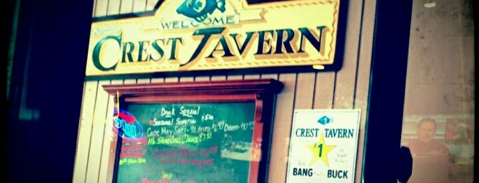 Crest Tavern is one of Lieux sauvegardés par Cassie.