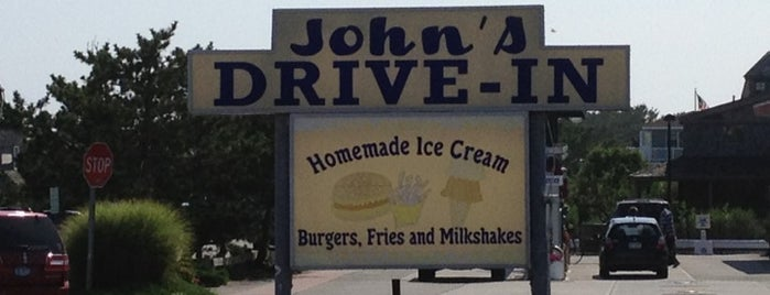 John's Drive-In is one of Montauk.