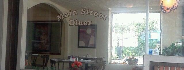 Main Street Diner is one of Lizzie'nin Kaydettiği Mekanlar.
