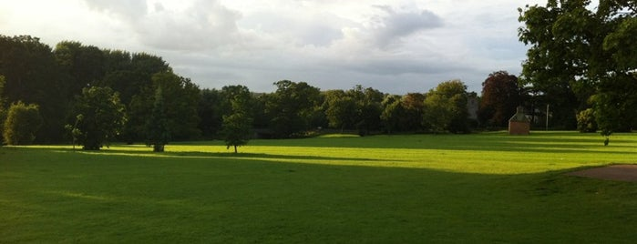 Earlham Park is one of University of East Anglia.
