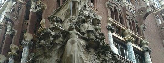 Palau de la Música Catalana is one of 101 llocs a veure a Barcelona abans de morir.