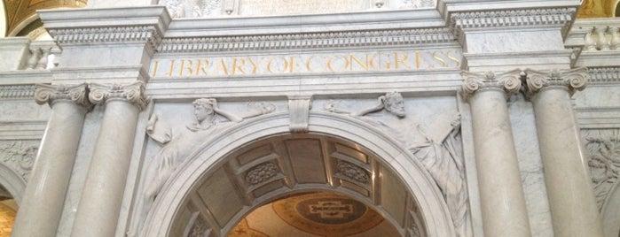 Bibliothèque du Congrès is one of Washington, D.C..