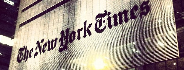 The New York Times Building is one of Silicon Alley, NYC.