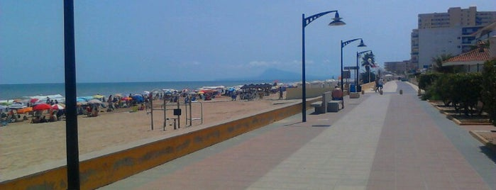 Playa de Bellreguard is one of Visitados.