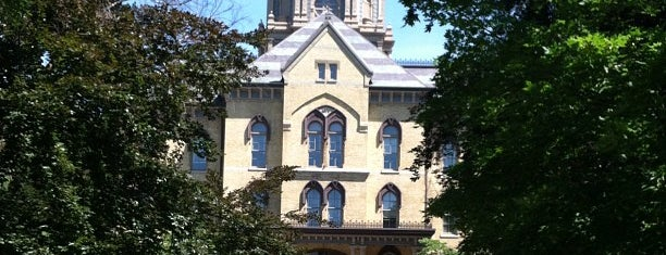 University of Notre Dame is one of 101 Places to Take Your Family in the U.S..