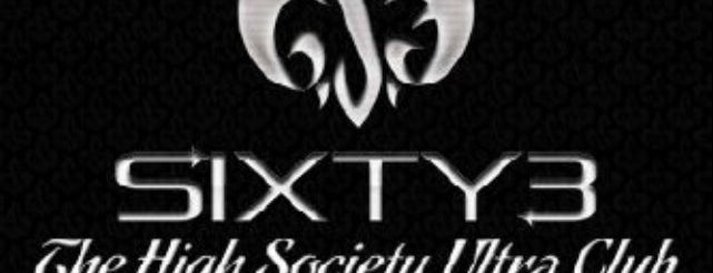 Sixty3 The High Society Ultra Club is one of Must-visit Nightlife Spots in Kuala Lumpur.