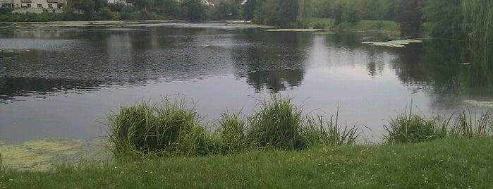 Libocký rybník is one of Lieux qui ont plu à Lyu.